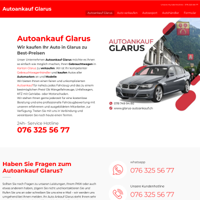 Autoankauf Glarus