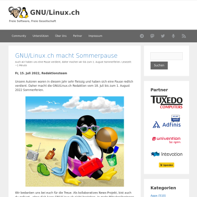 GNU/Linux News