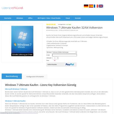Windows 7 Ultimate Kaufen