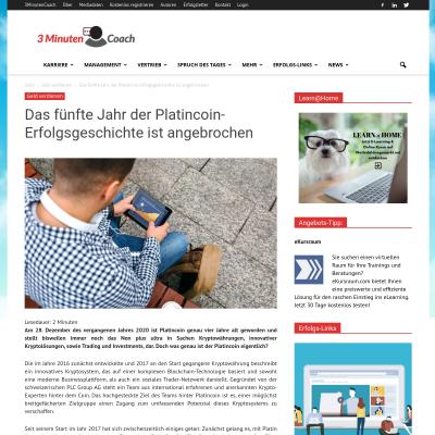 Platincoin Erfahrungen
