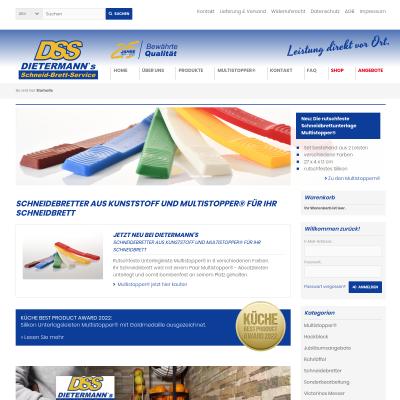 Kunststoffschneidebretter und Bretter abhobeln von DSS