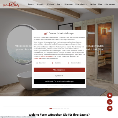 Sauna kaufen Österreich