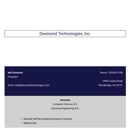 Desmond Technologies