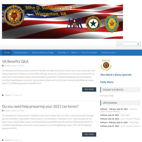 American Legion Post 72
