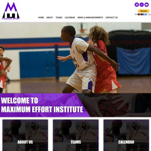 Max Effort Basketball