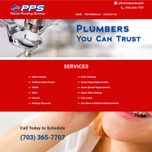 Patriot Plumbing Services, LLC