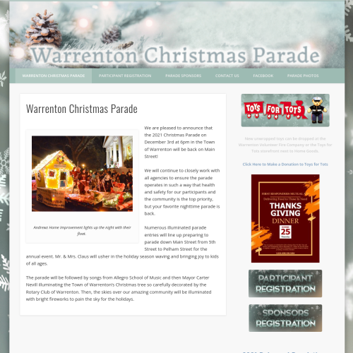 The Warrenton Christmas Parade